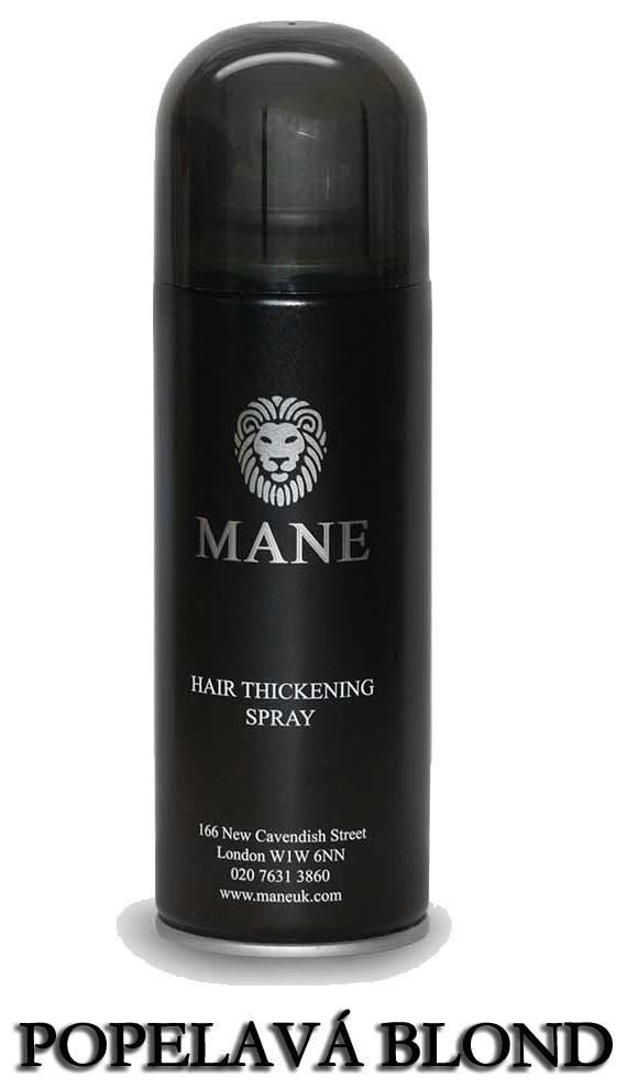 MANE vlasový zesilovač - BLOND POPELAVÁ - sprej pro dodání hustoty řídnoucím vlasům 200ml