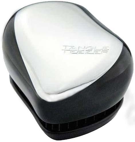 Tangle Teezer Compact Styler kartáč na vlasy Stříbrný lesklý
