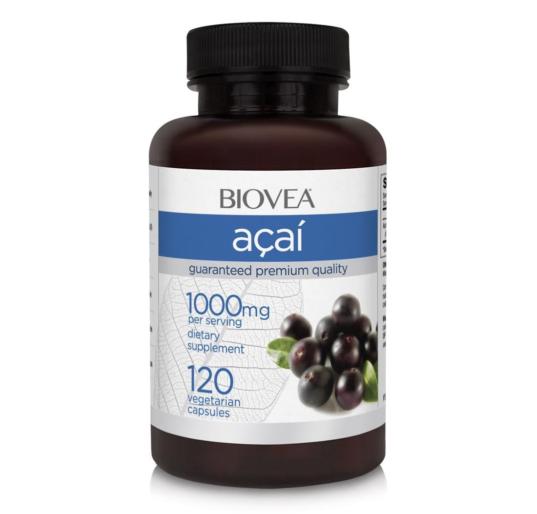 Biovea Acai 1000 mg 120 kps