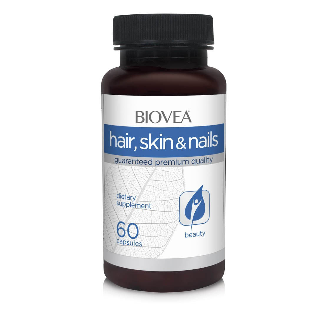 Biovea vitamíny pro vlasy, pokožku, nehty 60 kapslí