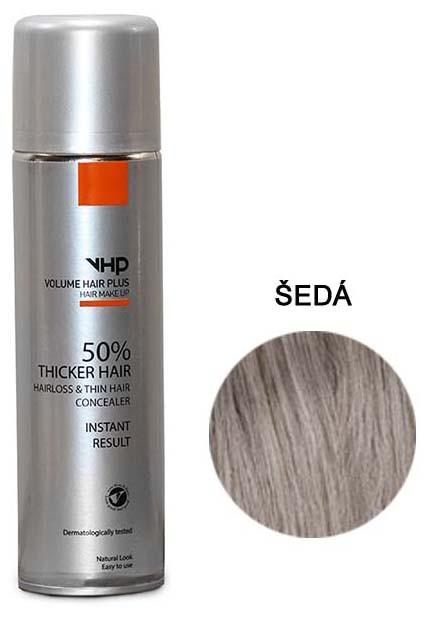 Volume Hair Plus vlasový zesilovač ŠEDÝ ve spreji pro zahuštění vlasů 250 ml