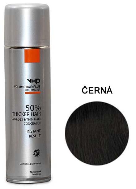 Volume Hair Plus vlasový zesilovač ČERNÝ ve spreji pro zahuštění vlasů 250 ml