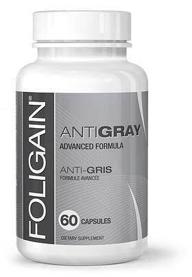 Anagen Research Foligain Antigray 60 tbl vitamíny proti šedivění vlasů