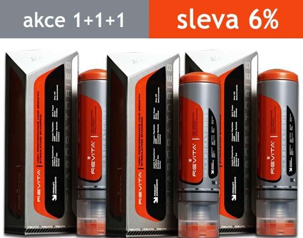 DS Laboratories Šampon proti vypadávání vlasů Revita 3x 180 ml
