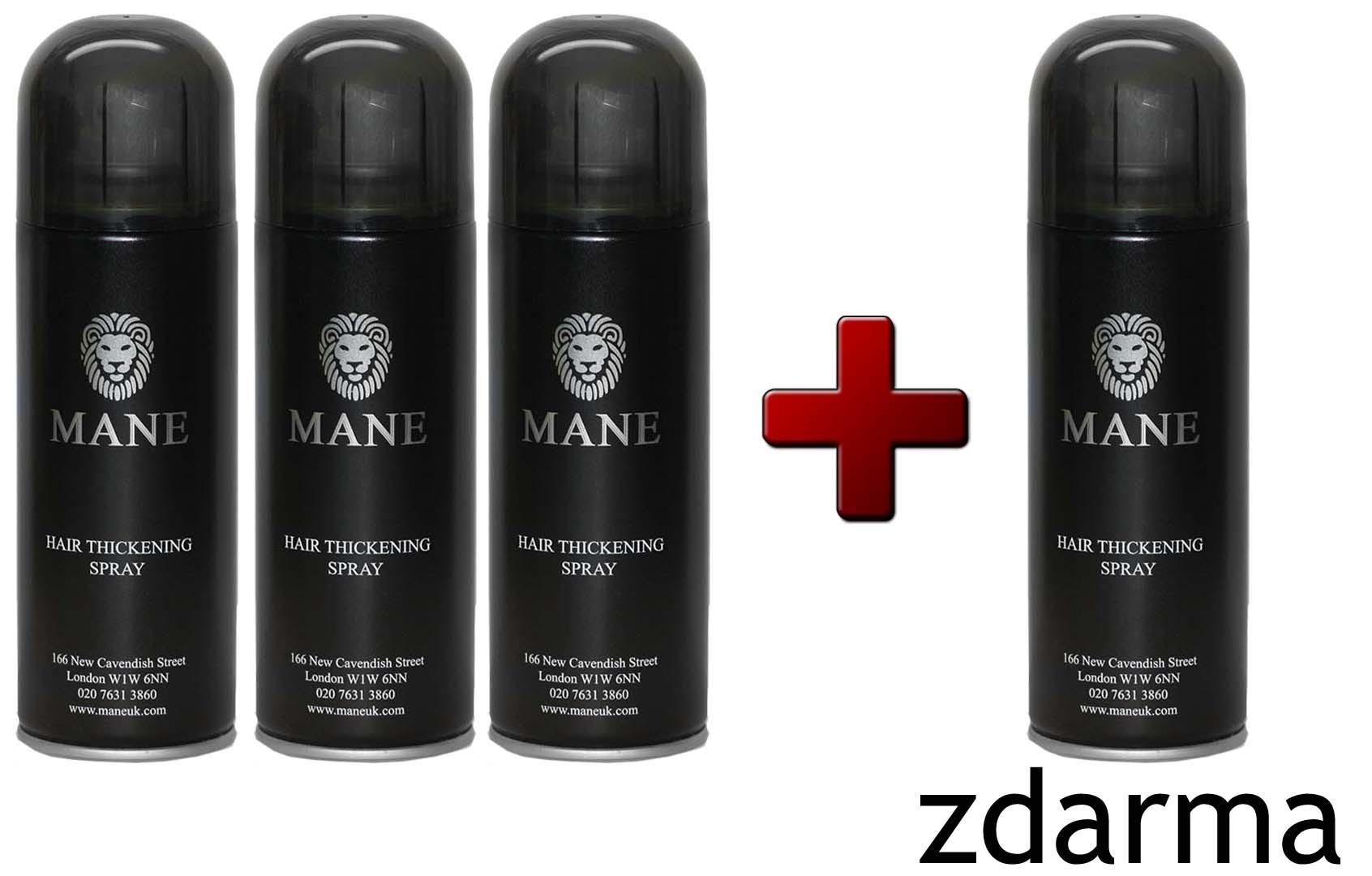 MANE vlasový zesilovač 200ml - AKCE 3+1 zdarma Mane vlasový zesilovač Červená hena (Kaštanová)